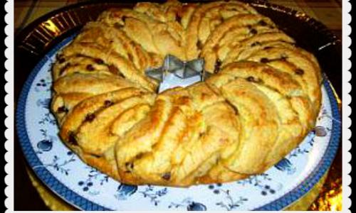Crostata marmellata di pere e gocce di cioccolata