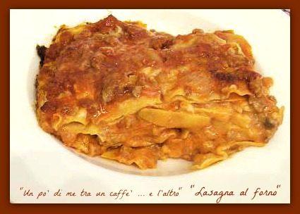Lasagna al forno, la mia versione