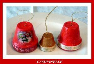 Campanelle natalizie decoriamo il Natale