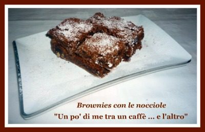 Brownies con nocciole