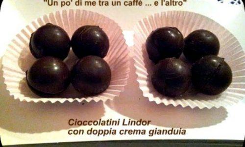 Cioccolatini Lindor, ricetta dolce