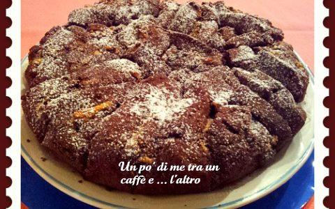 Crostata frolla cacao con ricotta nocciole e cioccolato