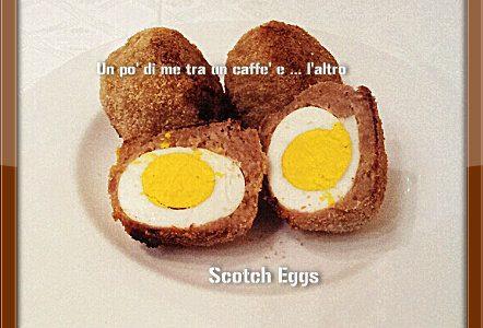 Polpette di salsiccia e uova sode