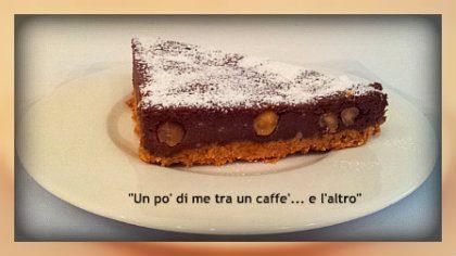Cheesecake base biscotti secchi con cioccolato mascarpone e ricotta