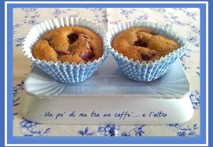 Muffin ciliegie e cannella
