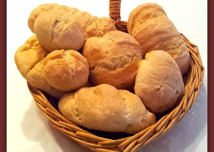 Panini con fiocchi di patate