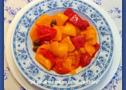 Peperonata, ricetta vegetariana