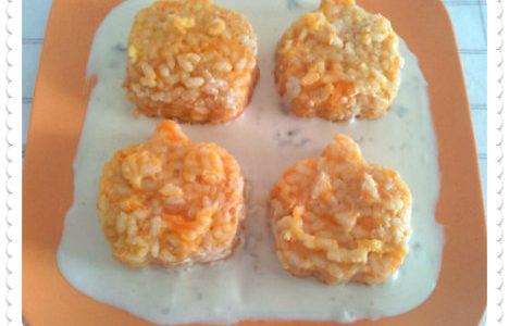 Sformatini di zucca e riso