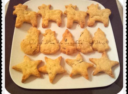Biscotti salati per Natale