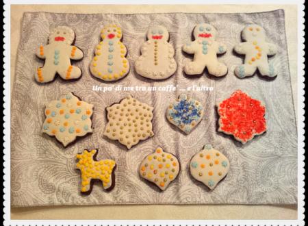 Biscotti decorati natalizi con pdz