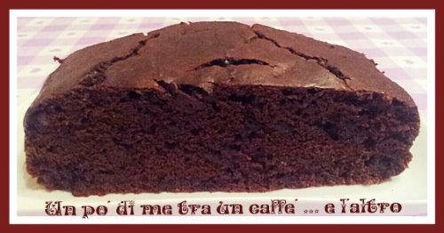 Torta Cacao e Gocce Cioccolato senza burro e uova (porzione)