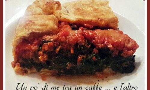 Tortino di spinaci, ricetta vegetariana